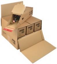 emballage carton pour exp dition et transport bouteille de vin 0 75l. Black Bedroom Furniture Sets. Home Design Ideas