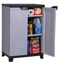 armoire basse de rangement en r sine pas cher pour garage. Black Bedroom Furniture Sets. Home Design Ideas