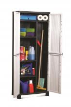 Armoire plastique armoire de rangement plastique pas cher for Rangement balai