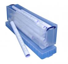 boite longue plastique transparent avec couvercle pour rangement. Black Bedroom Furniture Sets. Home Design Ideas