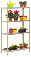 Etag re 4 tablettes pour ext rieur tag re pour plantes for Etageres plantes exterieur