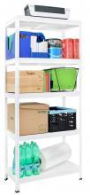 Etag re m tal 5 tablettes pour rangement bureau garage for Rangement metallique pour garage