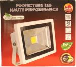 projecteur led 20watts standard blanc