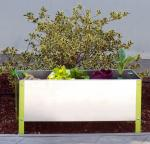 Pot de plantation galvanisé