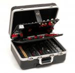 Valise outils trolley ABS + 128 pièces