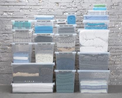 regard détaillé 5f97b 9208d Boite de rangement plastique SUNWARE