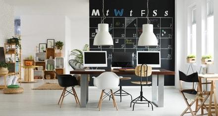 comment organiser son espace de travail. Black Bedroom Furniture Sets. Home Design Ideas