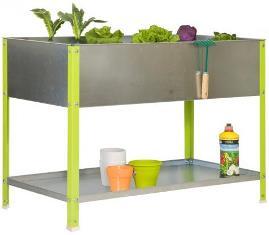 jardini re m tal bac de plantation et carr potager pour le jardin. Black Bedroom Furniture Sets. Home Design Ideas